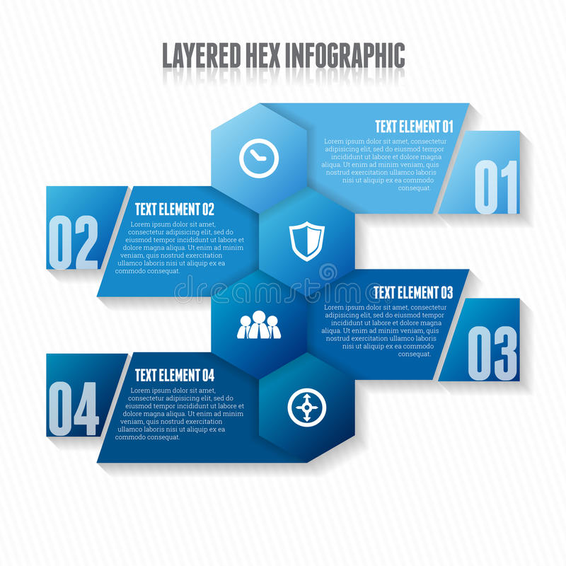 I lager förhäxa Infographic vektor illustrationer