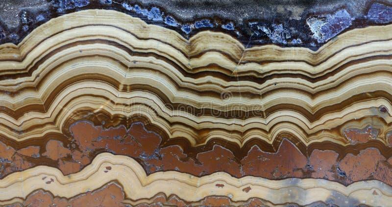 I lager Schalenblende mineraliskt prov royaltyfria bilder