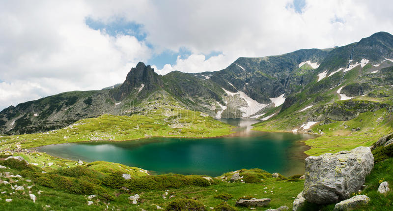 I laghi Rila immagine stock libera da diritti