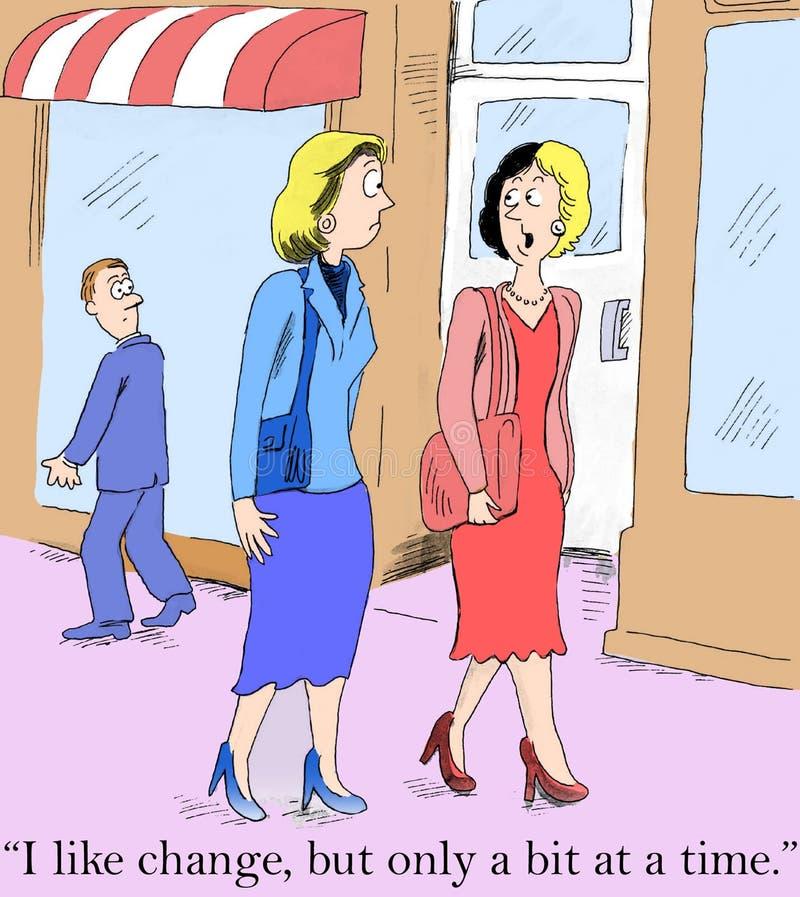 Download I Like Change, But Only A Little Bit Stock Illustration - Illustration: 27741401