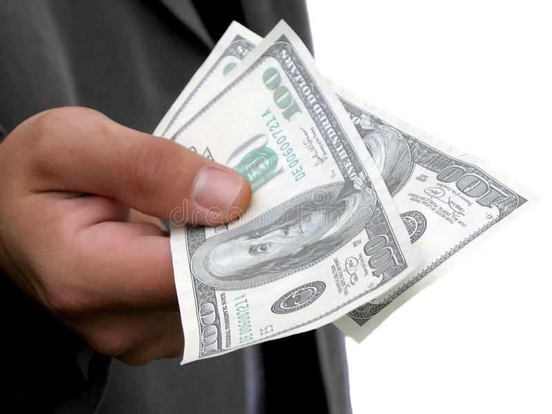 Download I'll Pay Cash stock image. Image of american, cash, hand - 166991