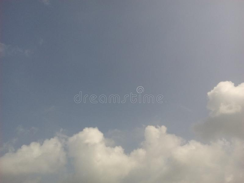 Open sky royalty free stock photography
