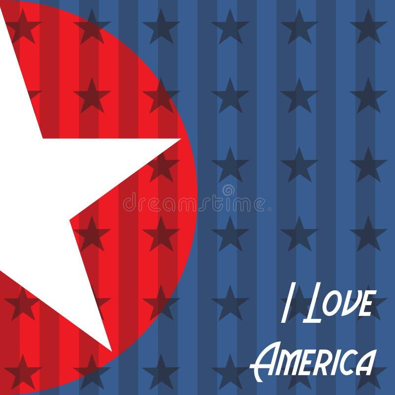 Download I love America stock illustration. Image of states, background - 33471690