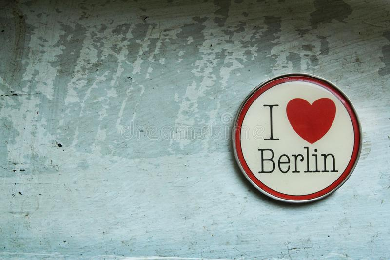 I love berlin stock image
