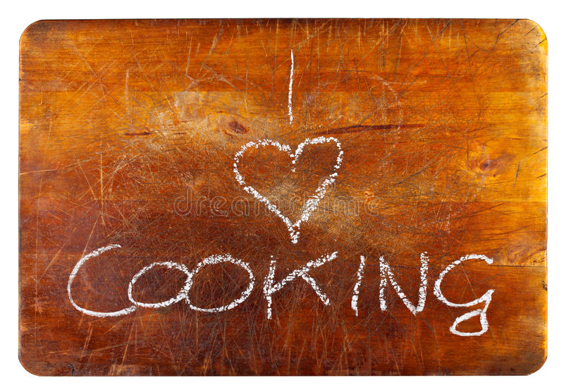 I love cooking stock photo