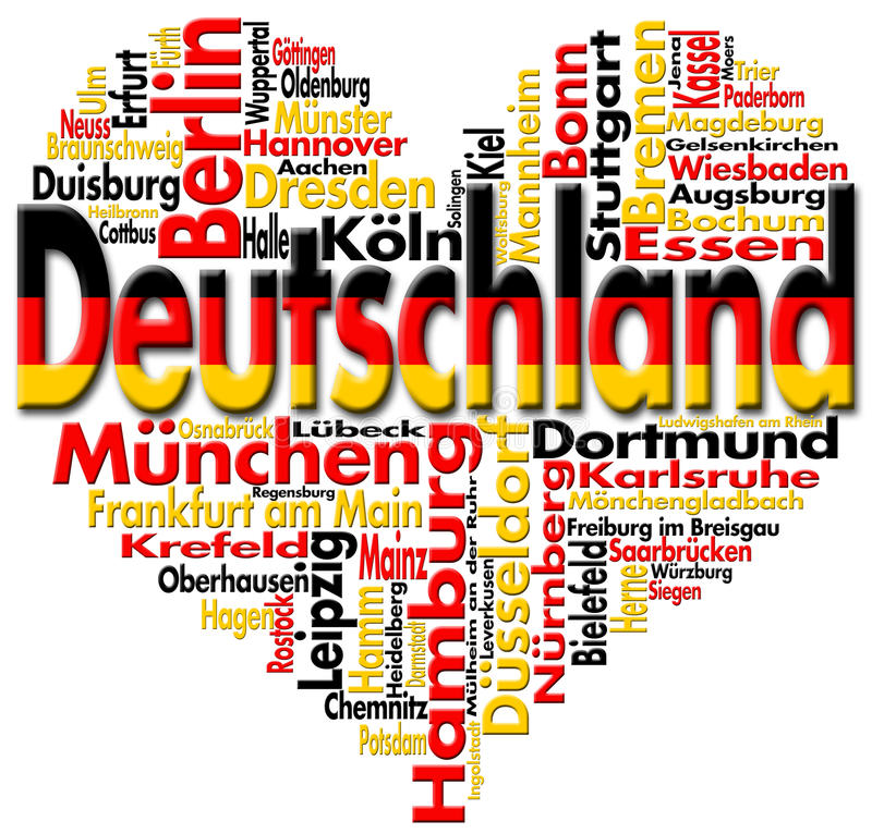 Download I Love Deutschland Royalty Free Stock Photos - Image: 22510408