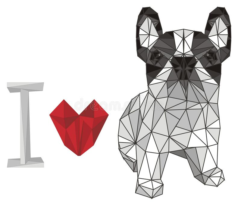 An Excited And Playful English Bulldog and A Romantic Wedding Aisle Ba –  Clipart Cartoons By VectorToons
