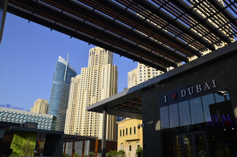 I love Dubai. royalty free stock photo