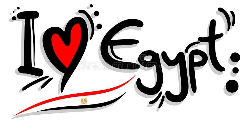 I love egypt stock illustration. Illustration of logo