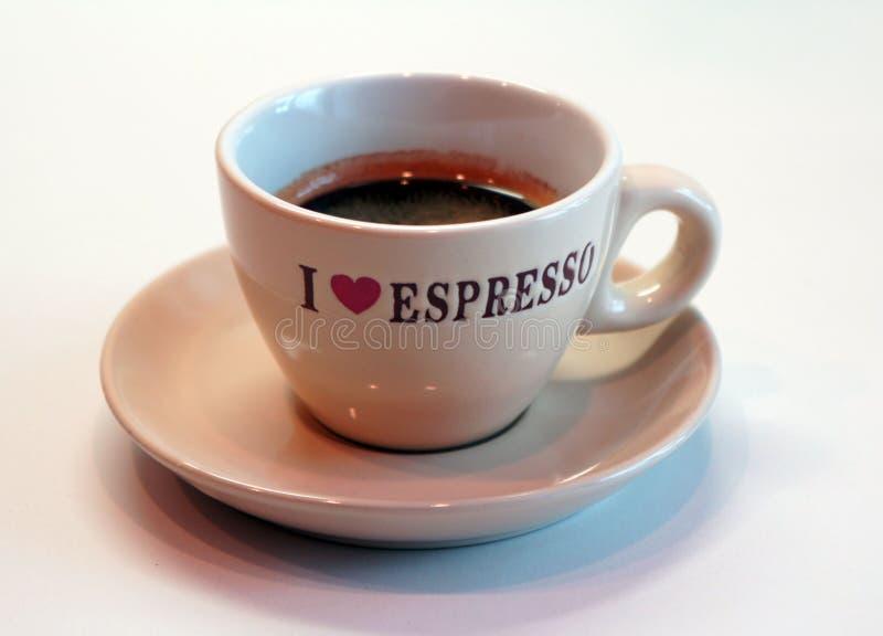 I love espreso royalty free stock photography