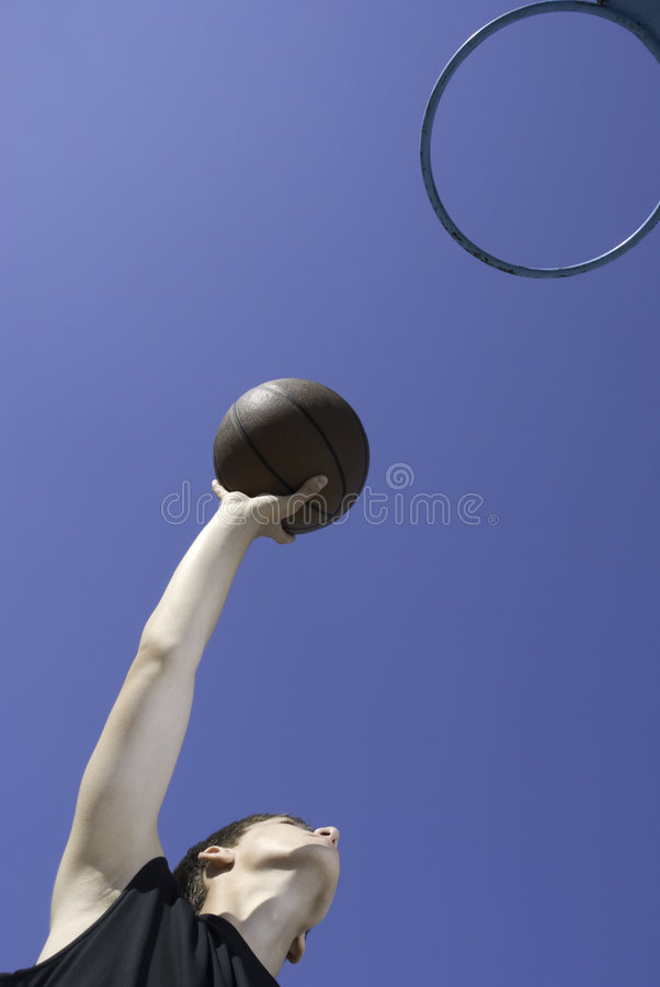 Download I love this game! stock photo. Image of basketball, hand - 3305210