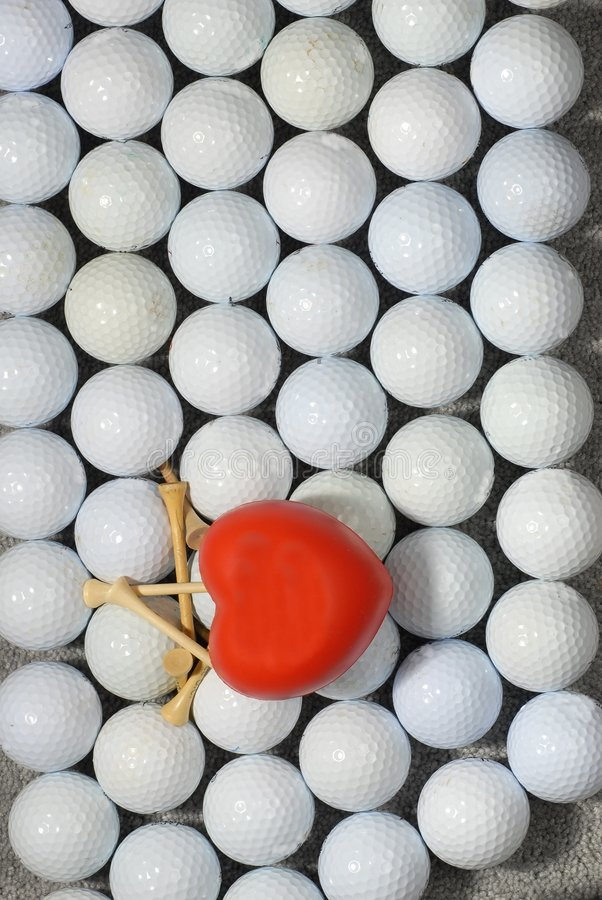Download I love golf 2 stock image. Image of balls, brown, passion - 7494605