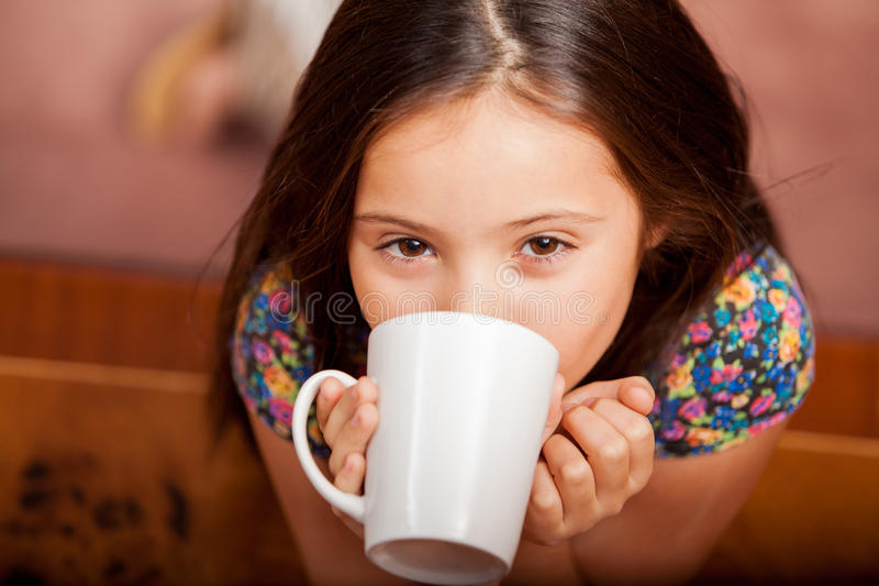 Download I love hot chocolate stock photo. Image of high, childhood - 34085582