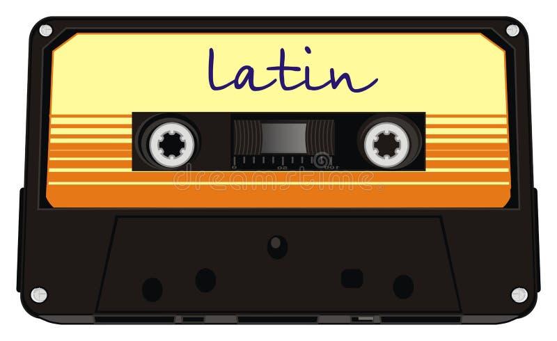 I love latin music stock illustration