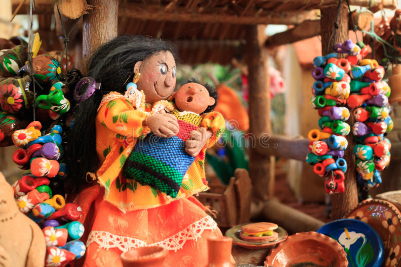 I Love Mexico Museum. Tequisquiapan, QRO, Mexico - Sep 29, 2016: The museum 'I Love Mexico' in Tequisquiapan features in miniatures part of everyday life of stock image