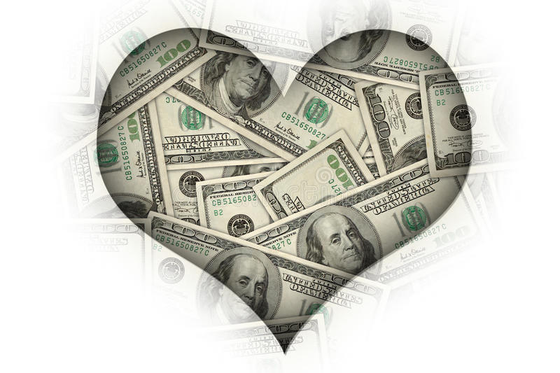 I love money stock illustration