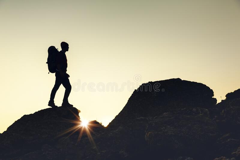 I love the montains stock photography