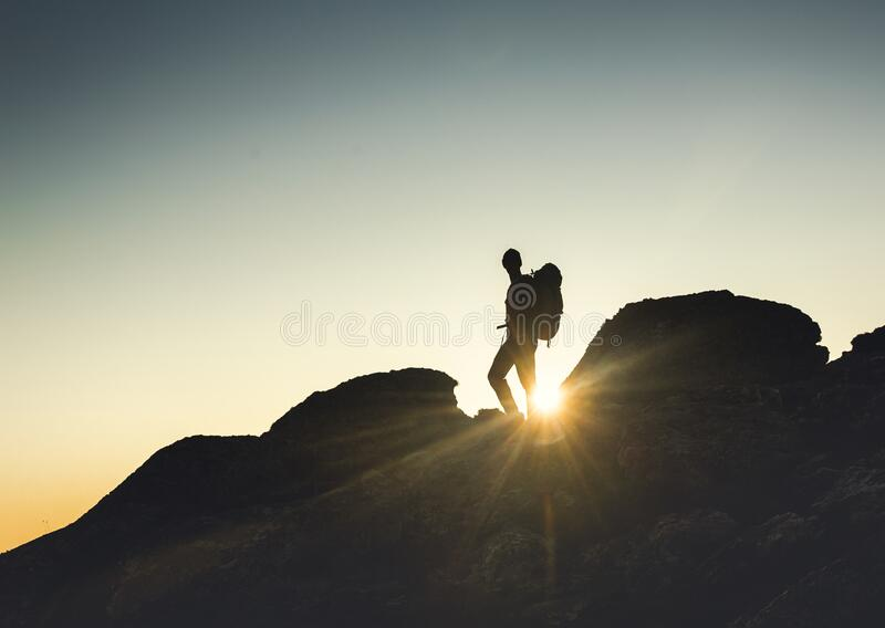 I love the montains royalty free stock image