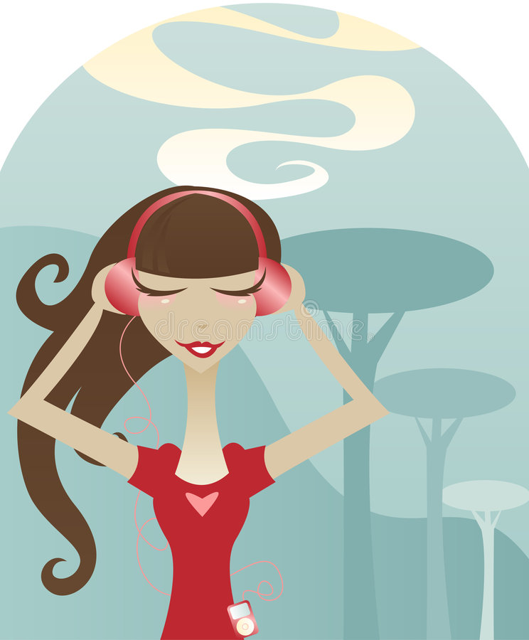 I Love Music Stock Images