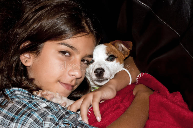I love my little dog royalty free stock image
