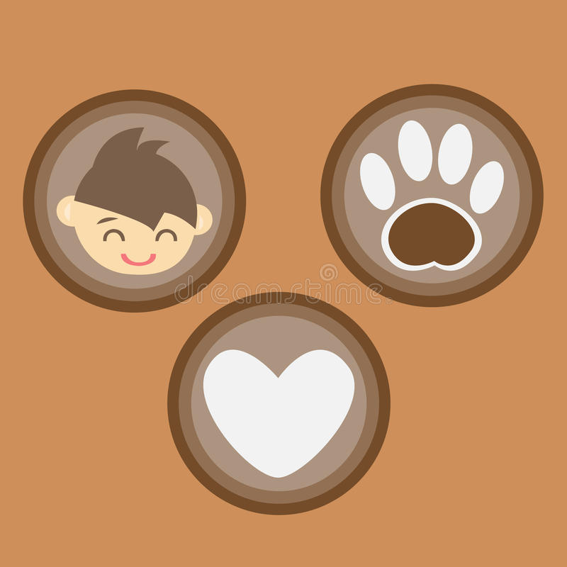 Download I love Pet stock vector. Illustration of medicine, icon - 31639824