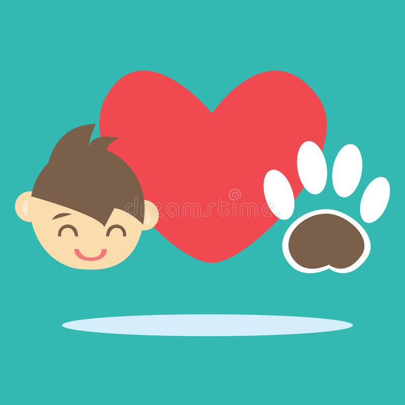 Download I love Pet stock vector. Image of beautiful, veterinarian - 31639804
