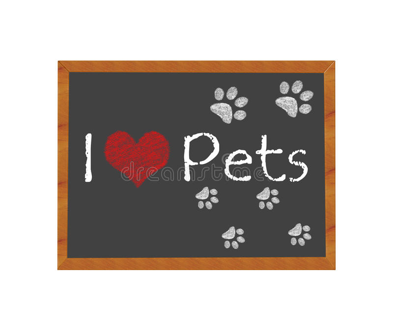 Download I love Pets stock illustration. Illustration of graphic - 39506853