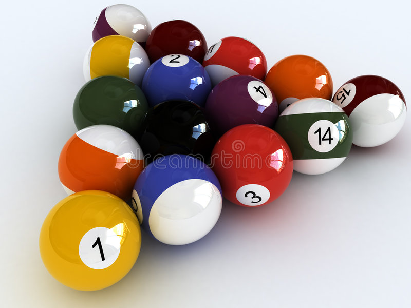 Download I Love Pool Royalty Free Stock Photos - Image: 3895838