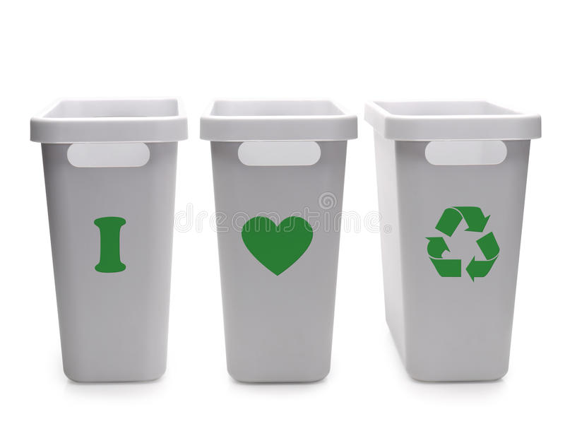 Download I love recycling stock image. Image of environment, text - 23570513