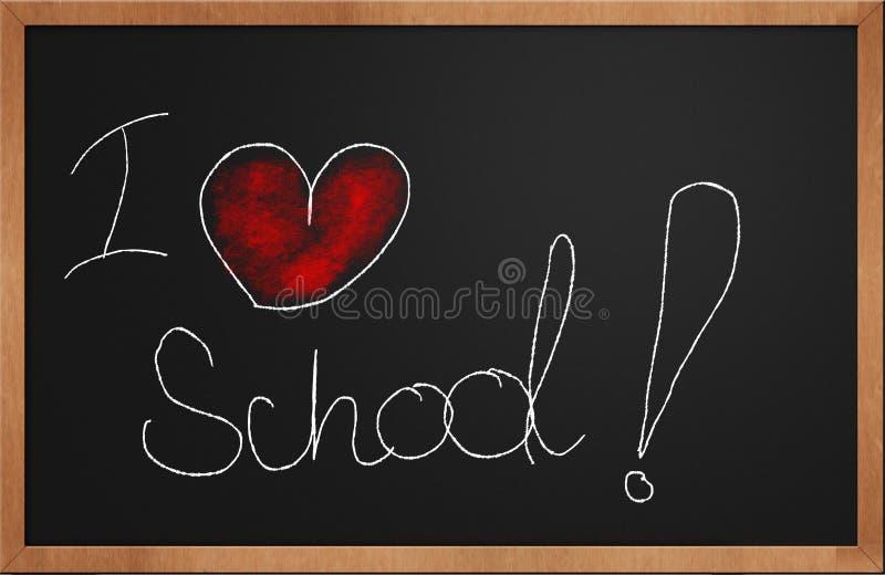 Download I love school stock illustration. Image of advertisement - 21401662