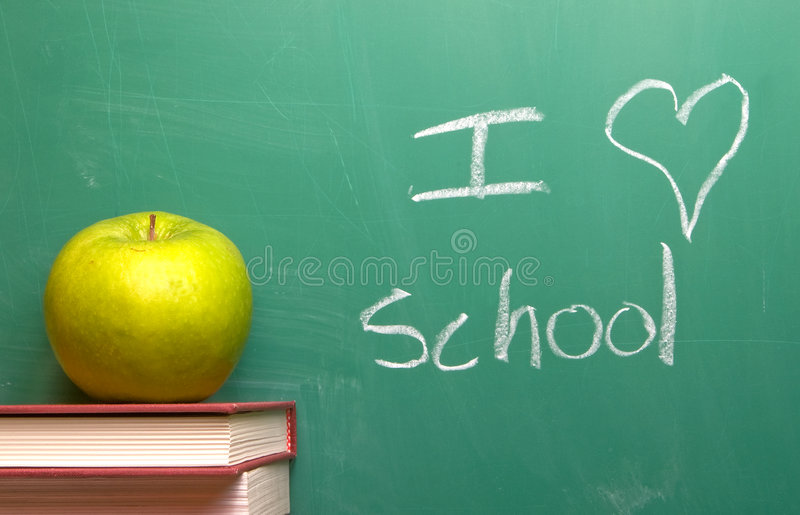 Download I Love School stock image. Image of lesson, granny, year - 5528585