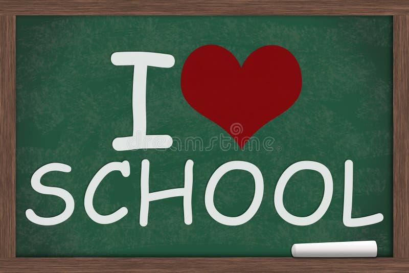 I Love School Royalty Free Stock Photo