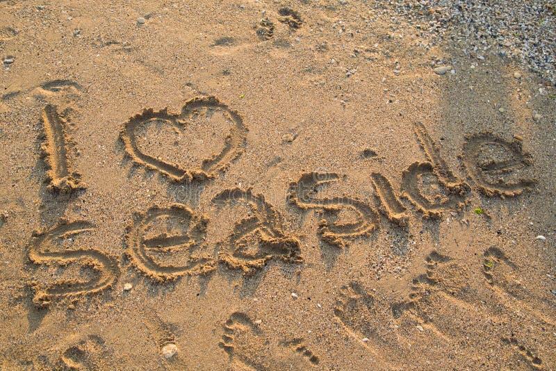 Download I Love The Sea stock photo. Image of coast, beach, coastline - 26106882