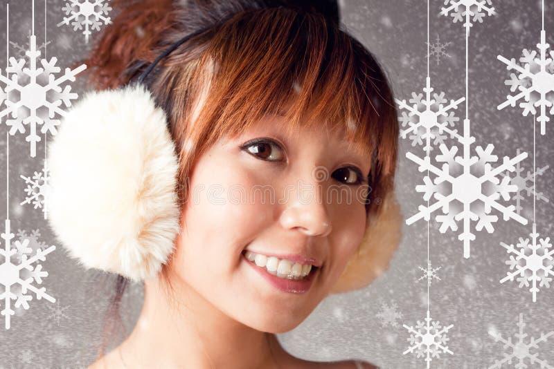 I Love Snow Flake Royalty Free Stock Image