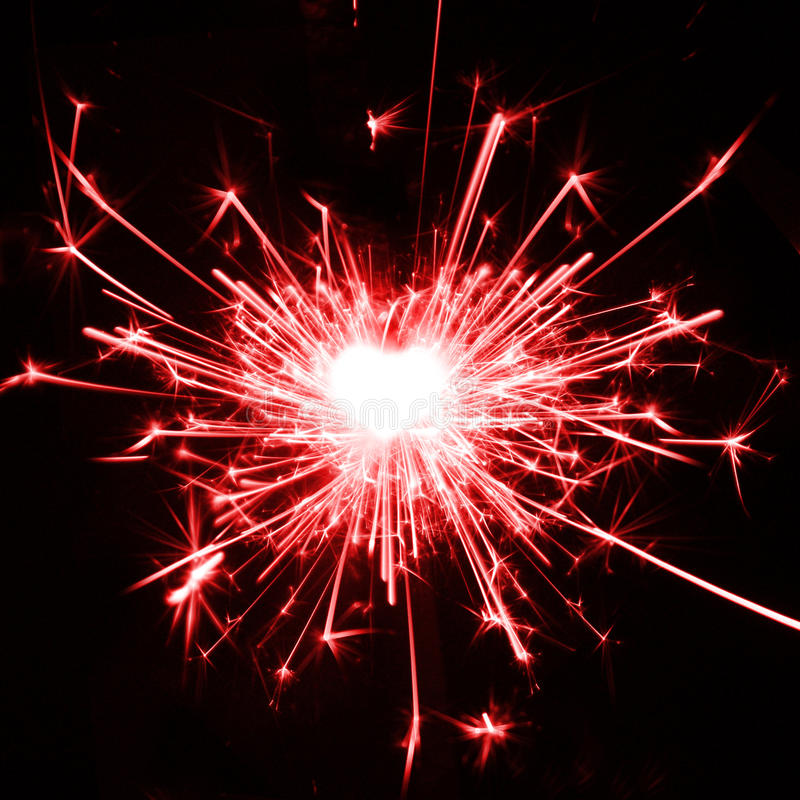 I love sparklers royalty free stock photo