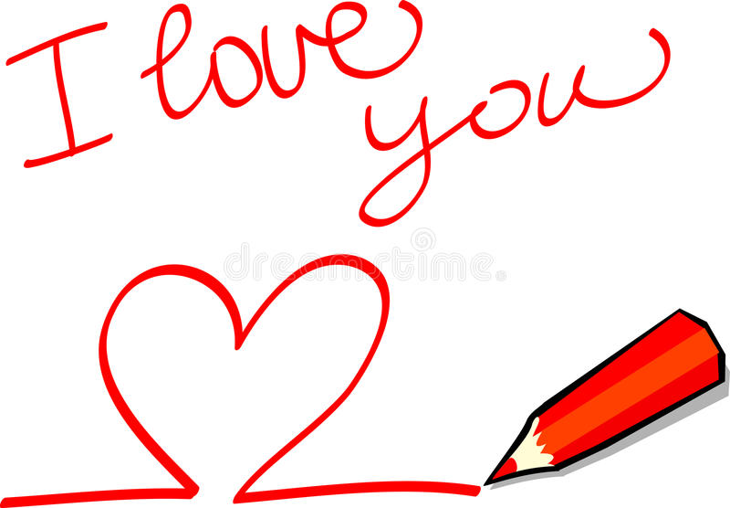 Download I Love U Royalty Free Stock Photos - Image: 14154078