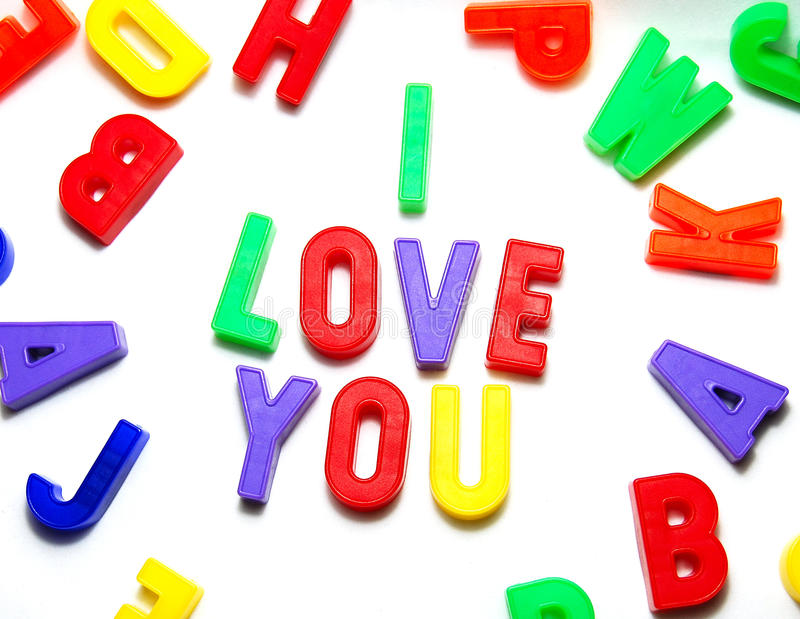 Download I Love You stock photo. Image of love, dedication, coloured - 11438722