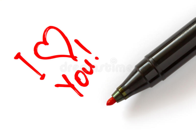 Download I love you stock photo. Image of office, single, sign - 24435922