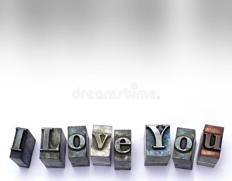I Love You stock photos