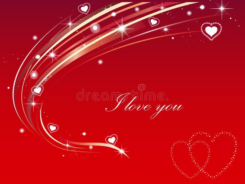 Download I love you stock illustration. Image of lights, backgrounds - 6981250