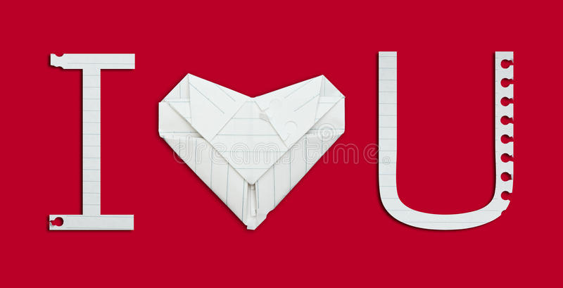 Download I love you alphabet paper stock photo. Image of heart - 39504348