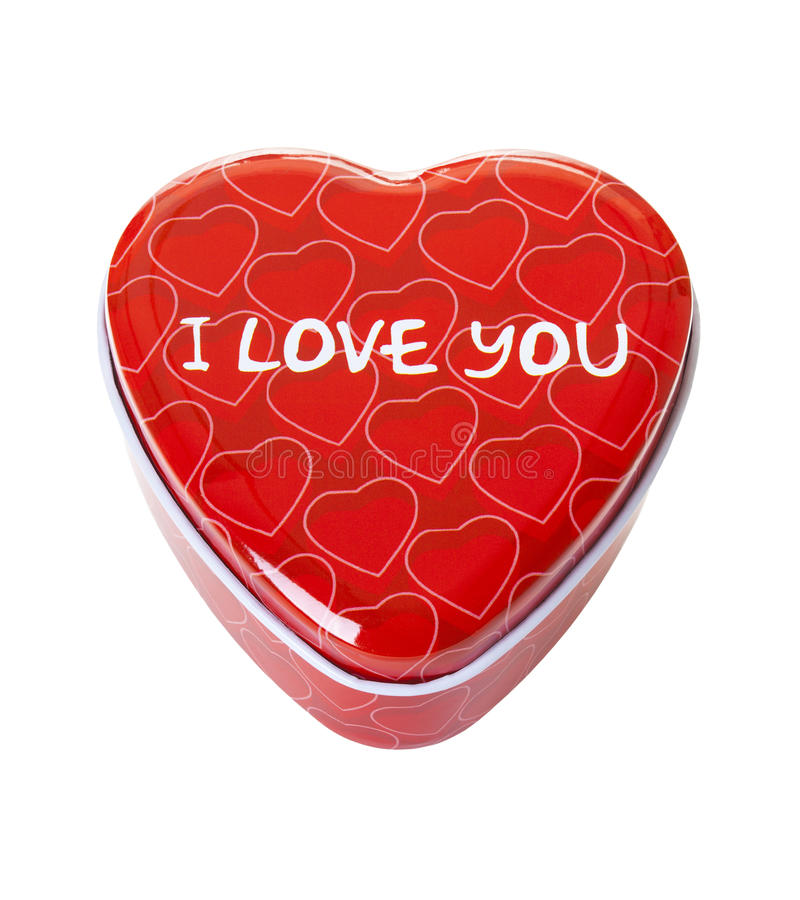I love you box royalty free stock images