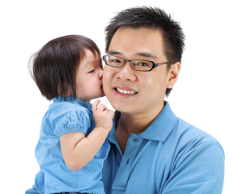Download I love you daddy! stock photo. Image of child, casual - 19717484