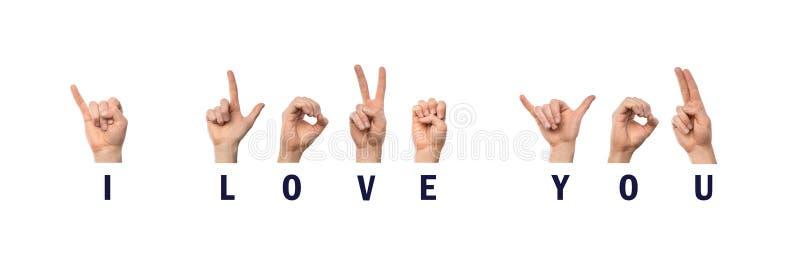 lie american sign language asl