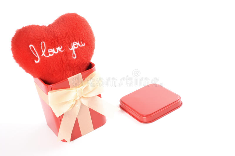 Download I love you gift stock photo. Image of heart, present - 38602292