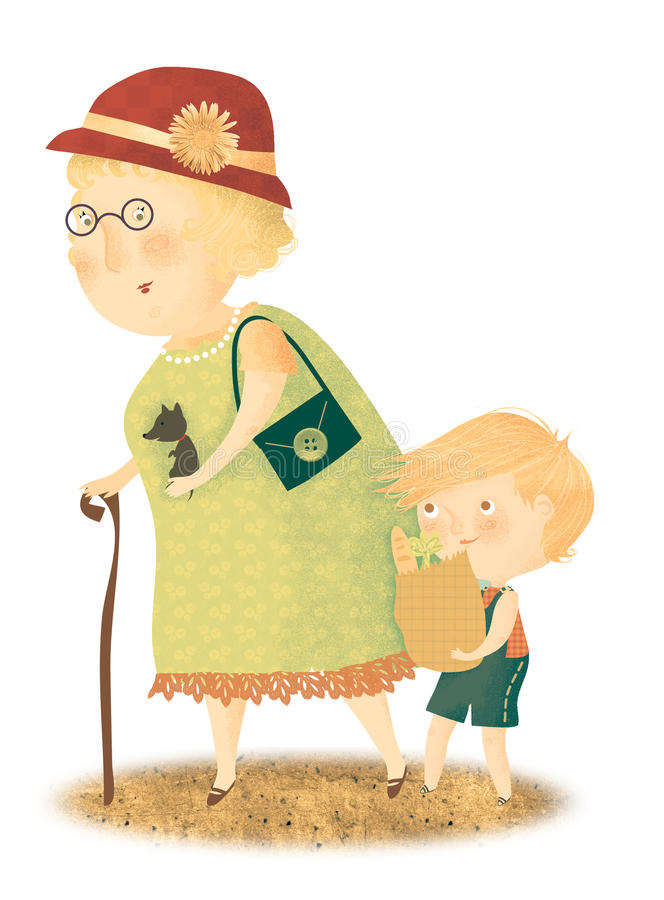 Download I Love You Granny Stock Images - Image: 27403744