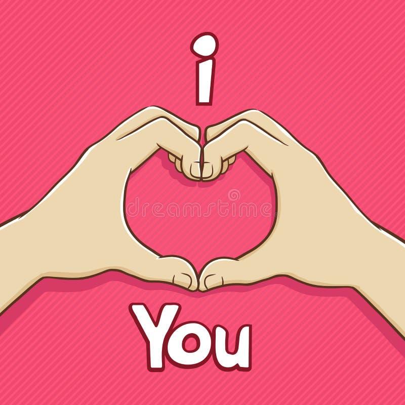 I Love You Hand Symbol Stock Vector Illustration Of Design 64339767