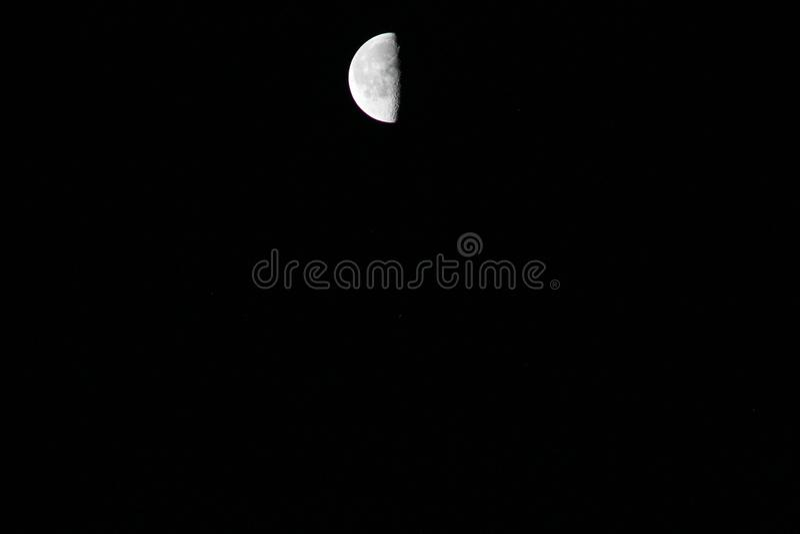 I månsken arkivbild