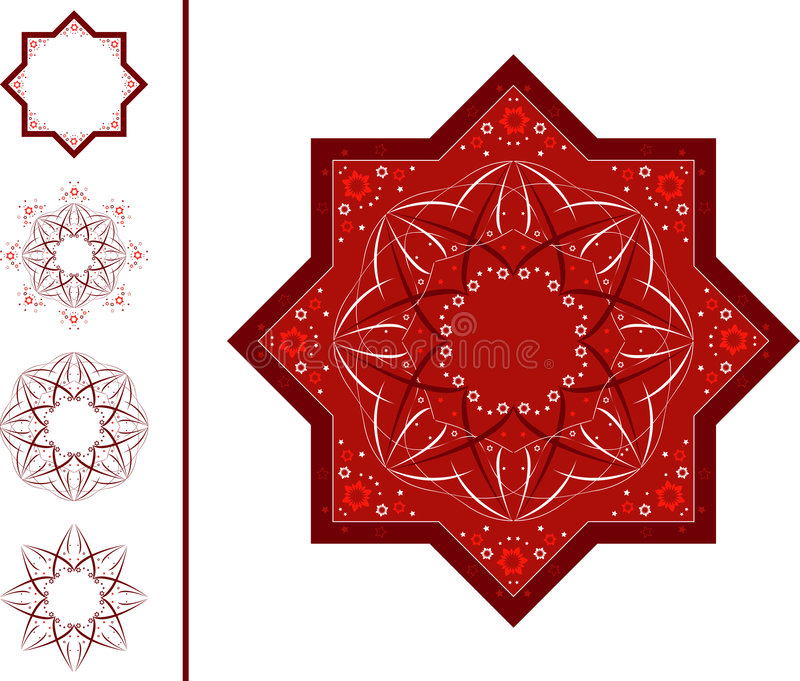 Download I M art stock vector. Image of decor, ornamentation, east - 3374692