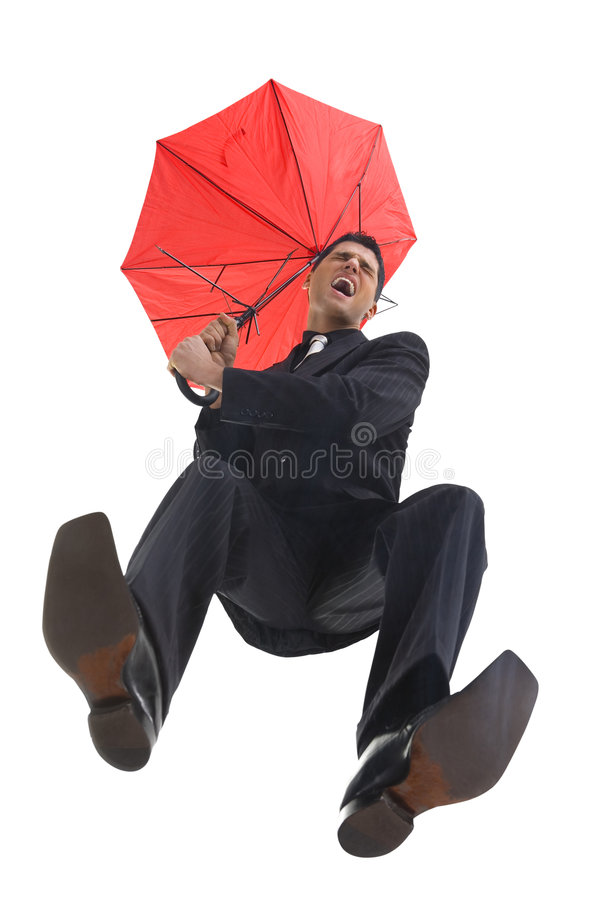 I'm falling! royalty free stock images